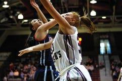 Ashley Logue - jugador de básquet de las mujeres del St. Joe Fotografía de archivo libre de regalías