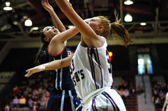 Ashley Logue - St. Joe's womens basketball player Royalty Free Stock Photography
