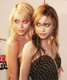 Ashley Olsen en Mary-Kate Olsen Stock Foto