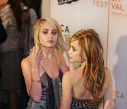 Ashley Olsen and Mary-Kate Olsen Stock Images