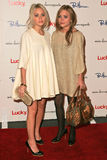 Ashley Olsen, Mary - Kate Olsen Royaltyfri Bild