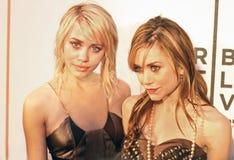 Ashley Olsen and Mary-Kate Olsen Stock Image