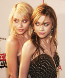 Ashley Olsen und Mary-Kate Olsen Stockfoto