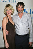 """Ashley Scott,William S Paley,William S. Paley,Skeet Ulrich. Ashley Scott and Skeet Ulrich at the 24th Annual William S. Paley Television Festival Featuring """" Royalty Free Stock Photography"""
