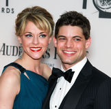 Ashley Spencer and Jeremy Jordan Royalty Free Stock Image