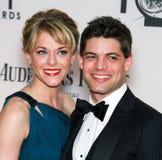 Ashley Spencer and Jeremy Jordan Royalty Free Stock Image