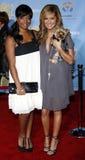 Ashley Tisdale και Monique Coleman Στοκ φωτογραφίες με δικαίωμα ελεύθερης χρήσης
