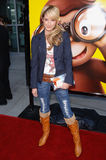 Ashley Tisdale,The Animals Royalty Free Stock Image