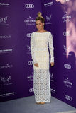 Ashley Tisdale arriving at 11th Annual Chrysalis Butterfly Ball Stock Images