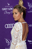 Ashley Tisdale arriving at 11th Annual Chrysalis Butterfly Ball Royalty Free Stock Images