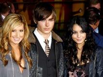 Ashley Tisdale, Zac Efron και Vanessa Hudgens Στοκ φωτογραφίες με δικαίωμα ελεύθερης χρήσης