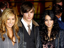 Ashley Tisdale, Zac Efron i Vanessa Hudgens, Zdjęcia Royalty Free
