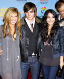 Ashley Tisdale, Zac Efron i Vanessa Hudgens, Obraz Stock