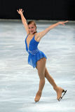 Ashley Wagner 2007/2008 circuit   Photographie stock libre de droits
