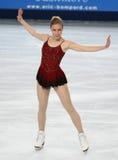 Ashley Wagner (Etats-Unis) image libre de droits