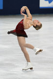 Ashley Wagner (USA) Royalty Free Stock Photography