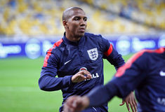 Ashley Young of England Royalty Free Stock Photo