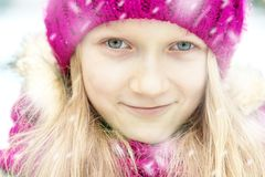 ashly smile стоковое изображение