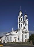 天使迈克尔的教会在Ashmyany 迟来的 免版税库存图片