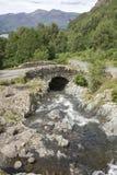 Ashness Bridge, Keswick; Lake District Stock Photos
