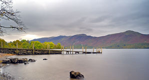 Ashness landing stage Royalty Free Stock Photography