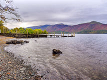 Ashness landing stage Stock Images