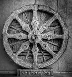 Ashok Chakra kamienia cyzelowanie fotografia royalty free