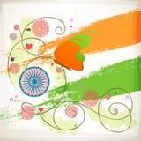 Ashok Wheel for Indian Republic Day celebrations. Royalty Free Stock Image