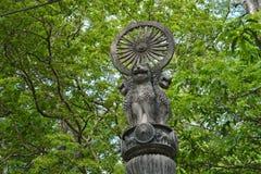 Ashoka柱子  免版税图库摄影