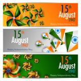Ashoka Chakra på lycklig självständighetsdagen av Indien bakgrund stock illustrationer