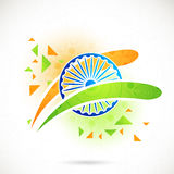 Ashoka Wheel for Indian Independence Day. Stock Photography