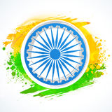 Ashoka Wheel for Indian Republic Day celebration. Stock Photography