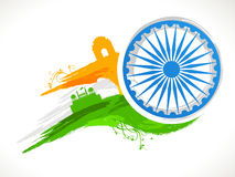 Ashoka Wheel for Indian Republic Day celebration. Stock Images