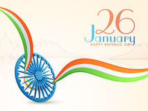 Ashoka Wheel for Indian Republic Day. Royalty Free Stock Image