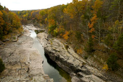 Ashokan Reservoir Gorge Spillway stock images