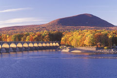 Ashokan Reservoir at Sunset Royalty Free Stock Photography