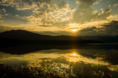Ashokan Sunset Stock Photos