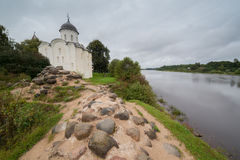 ashore крепость церков старая стоковая фотография rf