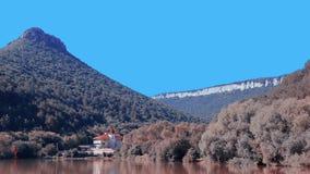 ashore озеро дома Стоковые Фото