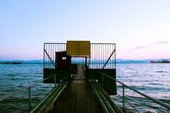 ashore сталь конструкции Стоковое фото RF