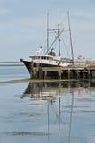 ashore удить траулер Стоковое Изображение RF