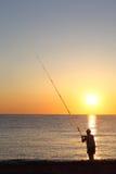 ashore utrota fiskarestands Arkivfoton