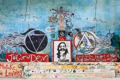 Ashram de Beatles, Rishikesh imagen de archivo libre de regalías