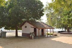 Ashram di Gandhi, Ahmedabad Immagine Stock