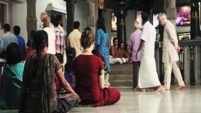 ASHRAM VAN SRI RAMANA MAHARSHI stock videobeelden