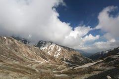 Ashret Gol river and Lowari pass, Khyber Pakhtunkhwa province Pakistan Royalty Free Stock Photography