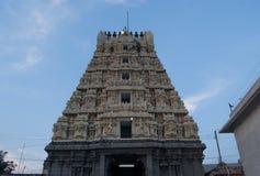 Ashtabujakaram är en hinduisk tempel i Kanchi Lokaliseras i det södra indiertillståndet av Tamil Nadu, hängivet till det hinduisk Royaltyfria Foton