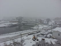 Ashtabula OH 港口 图库摄影