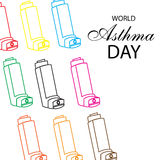 Ashtma day Royalty Free Stock Photo