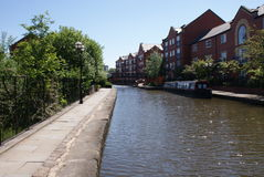 Ashton Canal - East Manchester Royalty Free Stock Images